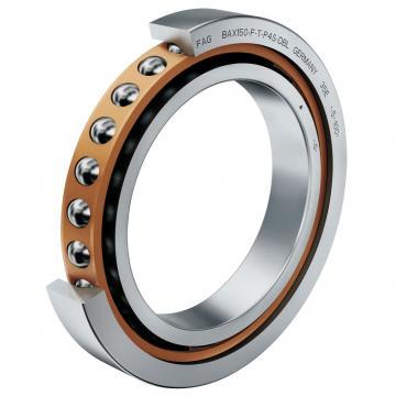 3.346 Inch | 85 Millimeter x 7.087 Inch | 180 Millimeter x 1.614 Inch | 41 Millimeter  Timken 7317WN MBR SU Angular Contact Bearings